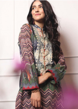 Lakhany Embroidered Lawn Unstitched Kurties LSM19EKT 1005 - Mid Summer Collection