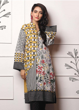 Lakhany Embroidered Lawn Unstitched Kurties LSM19EKT 1007 - Mid Summer Collection