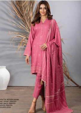 Cashmi Vool by Lakhany Printed Cashmere Wool Unstitched 3 Piece Suit LSM20CV 1001 A - Winter Collection