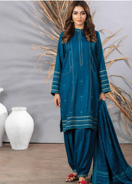 Cashmi Vool by Lakhany Printed Cashmere Wool Unstitched 3 Piece Suit LSM20CV 1001 B - Winter Collection