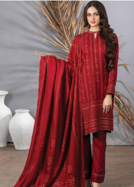 Cashmi Vool by Lakhany Printed Cashmere Wool Unstitched 3 Piece Suit LSM20CV 1002 A - Winter Collection