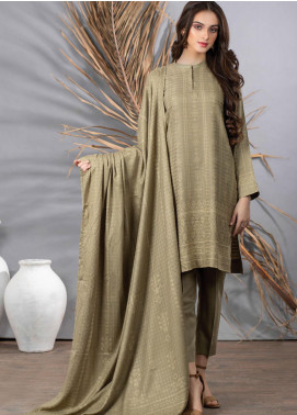 Cashmi Vool by Lakhany Printed Cashmere Wool Unstitched 3 Piece Suit LSM20CV 1002 B - Winter Collection