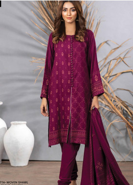 Cashmi Vool by Lakhany Printed Cashmere Wool Unstitched 3 Piece Suit LSM20CV 1003 B - Winter Collection