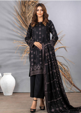 Cashmi Vool by Lakhany Printed Cashmere Wool Unstitched 3 Piece Suit LSM20CV 1004 A - Winter Collection