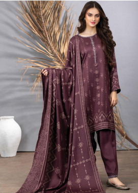 Cashmi Vool by Lakhany Printed Cashmere Wool Unstitched 3 Piece Suit LSM20CV 1004 B - Winter Collection