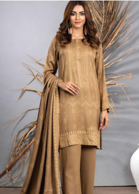 Cashmi Vool by Lakhany Printed Cashmere Wool Unstitched 3 Piece Suit LSM20CV 1005 A - Winter Collection