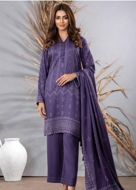 Cashmi Vool by Lakhany Printed Cashmere Wool Unstitched 3 Piece Suit LSM20CV 1005 B - Winter Collection