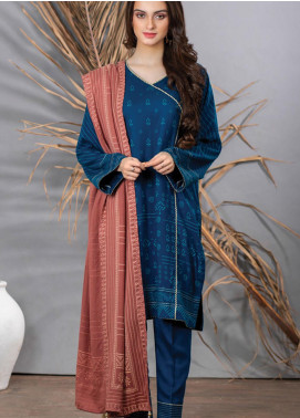 Cashmi Vool by Lakhany Printed Cashmere Wool Unstitched 3 Piece Suit LSM20CV 1006 A - Winter Collection