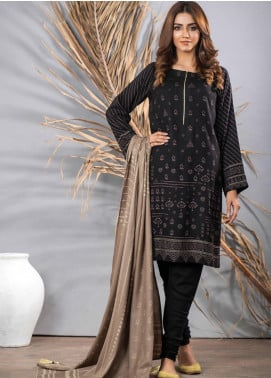 Cashmi Vool by Lakhany Printed Cashmere Wool Unstitched 3 Piece Suit LSM20CV 1006 B - Winter Collection