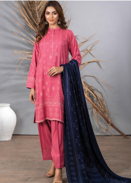 Cashmi Vool by Lakhany Printed Cashmere Wool Unstitched 3 Piece Suit LSM20CV 1007 A - Winter Collection