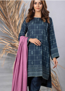 Cashmi Vool by Lakhany Printed Cashmere Wool Unstitched 3 Piece Suit LSM20CV 1009 A - Winter Collection