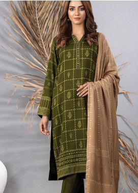 Cashmi Vool by Lakhany Printed Cashmere Wool Unstitched 3 Piece Suit LSM20CV 1009 B - Winter Collection