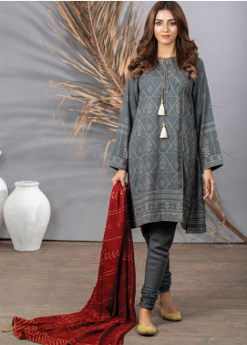 Cashmi Vool by Lakhany Printed Cashmere Wool Unstitched 3 Piece Suit LSM20CV 1010 A - Winter Collection