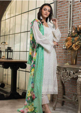 Lakhany Printed Lawn Unstitched 3 Piece Suit LSM19L LWP0004 - Spring / Summer Collection