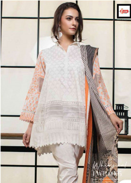 Lakhany Printed Lawn Unstitched 3 Piece Suit LSM19L LWP0005 - Spring / Summer Collection
