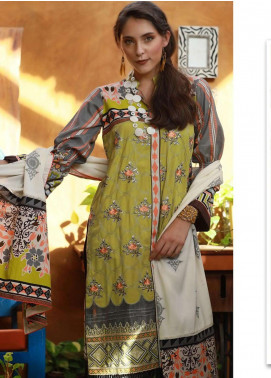 Lakhany Embroidered Viscose Unstitched 3 Piece Suit LSM18MP 9905A - Formal Collection