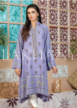 Lakhany Embroidered Cotton Unstitched Kurties LSM19SK 7002-B - Formal Collection