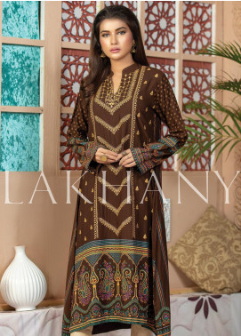 Lakhany Embroidered Cotton Unstitched Kurties LSM19SK 7010-B - Formal Collection