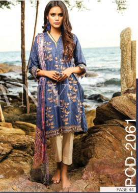 Lakhany Embroidered Lawn Unstitched 3 Piece LSM20SS 2061 - Summer Collection