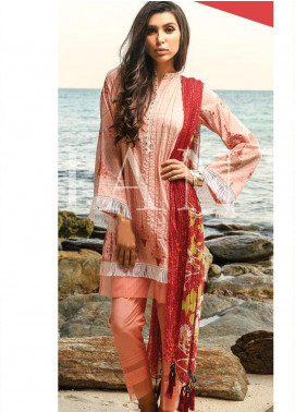 Lakhany Embroidered Lawn Unstitched 3 Piece LSM20SS 2062 - Summer Collection