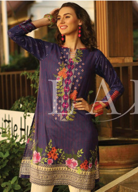Lakhany Embroidered Lawn Unstitched Kurties LSM20SS 2070 - Summer Collection