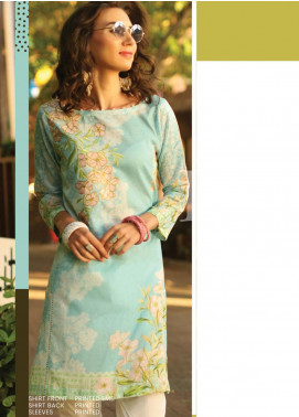 Lakhany Embroidered Lawn Unstitched Kurties LSM20SS 2071 - Summer Collection