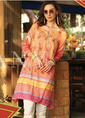 Lakhany Embroidered Lawn Unstitched Kurties LSM20SS 2073 - Summer Collection