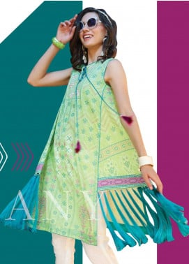 Lakhany Embroidered Lawn Unstitched Kurties LSM20SS 2074 - Summer Collection