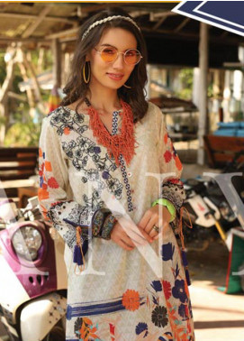 Lakhany Embroidered Lawn Unstitched Kurties LSM20SS 2077 - Summer Collection