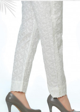 Lakhany Embroidered Cotton Net Unstitched Trousers LSM20SS 2091 - Summer Collection