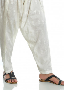 Lakhany Embroidered Cotton Net Unstitched Trousers LSM20SS 2093 - Summer Collection
