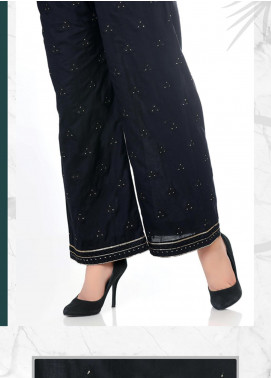 Lakhany Embroidered Cotton Net Unstitched Trousers LSM20SS 2098 - Summer Collection