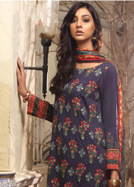 Lakhany Embroidered Viscose Unstitched 3 Piece Suit LSM19WE 2206 - Winter Collection