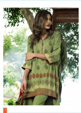 Lakhani Embroidered Cottel Linen Unstitched 3 Piece Suit LSM17W3 222A