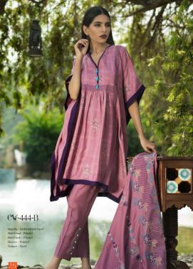 Lakhani Embroidered Cottel Linen Unstitched 3 Piece Suit LSM17W3 444B