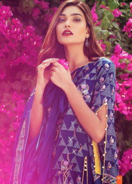 Lakhani Embroidered Cottel Linen Unstitched 3 Piece Suit LSM17W3 777A