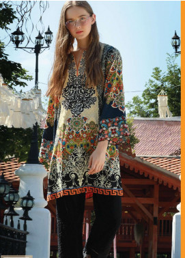 Lakhany Embroidered Cotton Unstitched Kurties LSM18WK 03 - Winter Collection