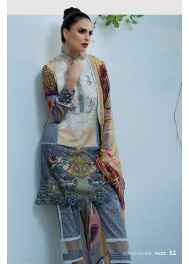 Sophia Sahar by LSM Embroidered Lawn Unstitched 3 Piece Suit LSS17E 707A