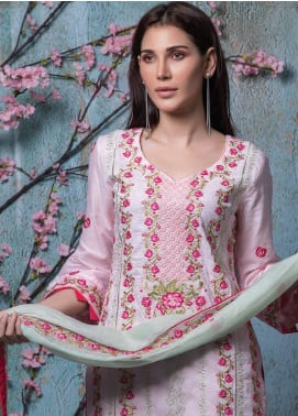 Maira Ahsan Embroidered Lawn Unstitched 3 Piece Suit MA18-L4 13 - Mid Summer Collection