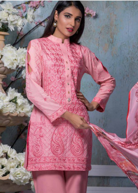 Maira Ahsan Embroidered Lawn Unstitched 3 Piece Suit MA18-L4 15 - Mid Summer Collection