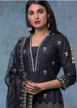 Maira Ahsan Embroidered Lawn Unstitched 3 Piece Suit MA18-L4 1B - Mid Summer Collection