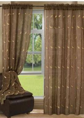 Maguari Textile Crincles Cotton Net  Curtain Mt971 -