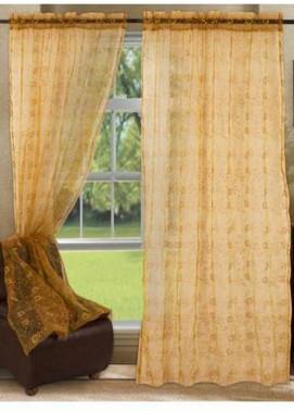 Maguari Textile Gotta Cotton Net  Curtain Mt972 -