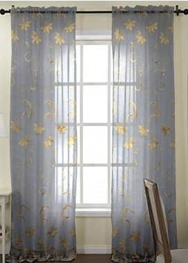 Maguari Textile Flory Cotton Net  Curtain Mt973 -