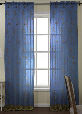 Maguari Textile Florish Cotton Net  Curtain Mt974 -