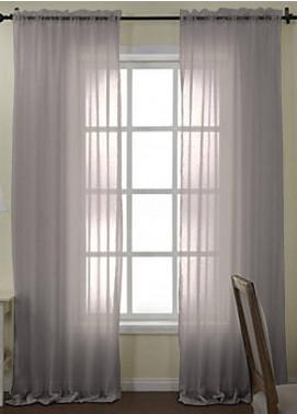 Maguari Textile Plain Cotton Net  Curtain Mt975 -