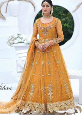 Mah-e-Meer by Anamta Embroidered Net Unstitched 3 Piece Suit ANT20MM S-1 NOOR JAHAN - Luxury Collection