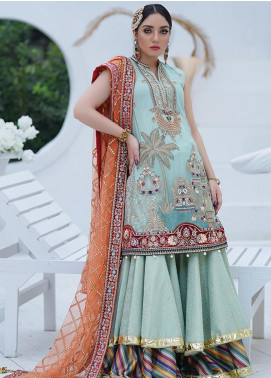 Mah-e-Meer by Anamta Embroidered Net Unstitched 3 Piece Suit ANT20MM S-2 LAILA - Luxury Collection