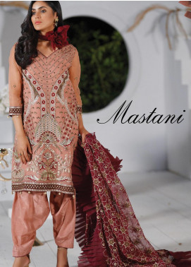 Mah-e-Meer by Anamta Embroidered Organza Unstitched 3 Piece Suit ANT20MM S-6 MASTANI - Luxury Collection