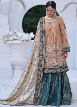 Mah-e-Meer by Anamta Embroidered Net Unstitched 3 Piece Suit ANT20MM S-7 HEER - Luxury Collection